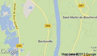 Plan de Bardouville