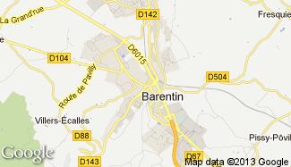 Plan de Barentin