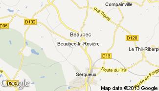 Plan de Beaubec-la-Rosière