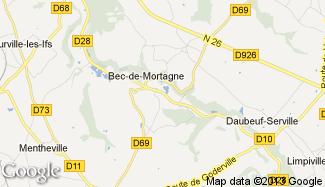 Plan de Bec-de-Mortagne