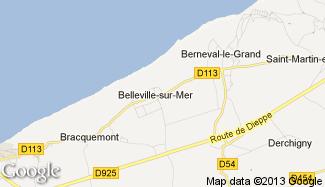 Plan de Belleville-sur-Mer