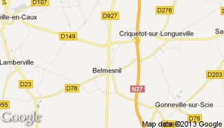 Plan de Belmesnil