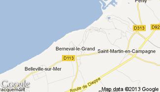 Plan de Berneval-le-Grand