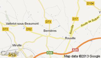 Plan de Bernières