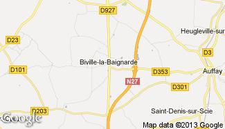 Plan de Biville-la-Baignarde