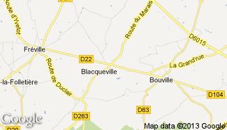 Plan de Blacqueville