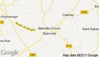 Plan de Blainville-Crevon