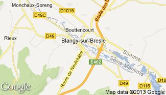 Plan de Blangy-sur-Bresle
