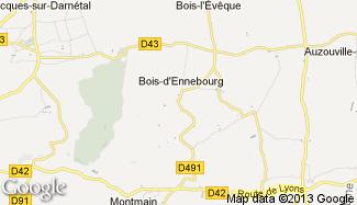 Plan de Bois-d'Ennebourg