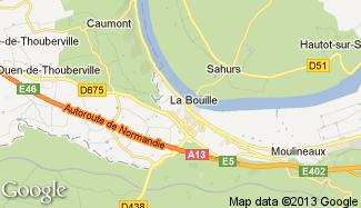 Plan de La Bouille