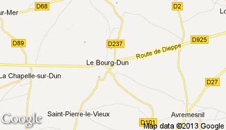 Plan de Le Bourg-Dun