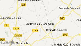 Plan de Bretteville-du-Grand-Caux