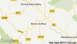 Plan de Bures-en-Bray