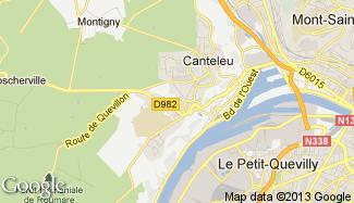 Plan de Canteleu