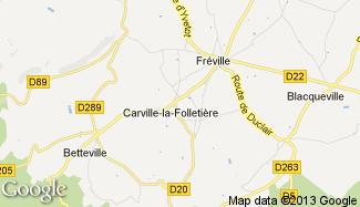 Plan de Carville-la-Folletière