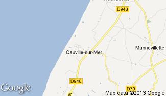 Plan de Cauville-sur-Mer