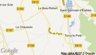 Plan de La Chapelle-du-Bourgay