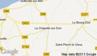 Plan de La Chapelle-sur-Dun