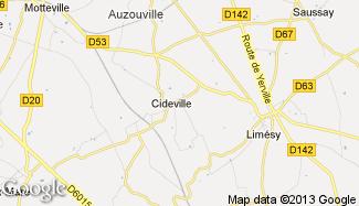 Plan de Cideville