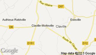 Plan de Claville-Motteville
