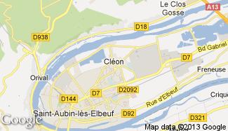 Plan de Cléon