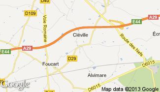 Plan de Cléville