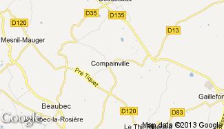 Plan de Compainville