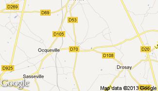 Plan de Crasville-la-Mallet