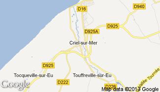 Plan de Criel-sur-Mer