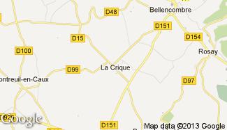 Plan de La Crique