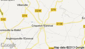 Plan de Criquetot-l'Esneval