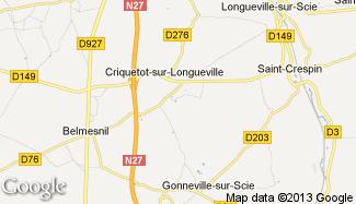 Plan de Criquetot-sur-Longueville