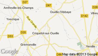 Plan de Criquetot-sur-Ouville