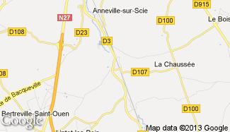 Plan de Crosville-sur-Scie
