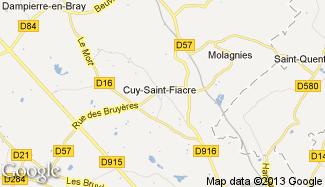Plan de Cuy-Saint-Fiacre