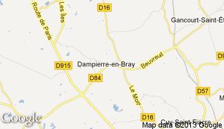 Plan de Dampierre-en-Bray