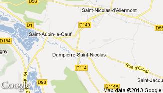 Plan de Dampierre-Saint-Nicolas