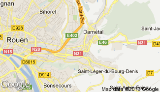 Plan de Darnétal