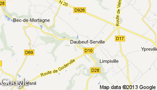 Plan de Daubeuf-Serville