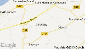 Plan de Derchigny