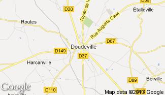 Plan de Doudeville