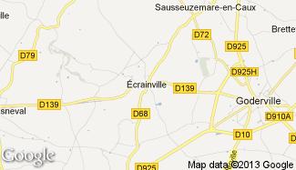 Plan de Écrainville