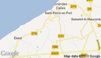 Plan de Écretteville-sur-Mer
