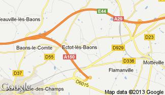 Plan de Ectot-lès-Baons
