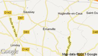 Plan de Émanville