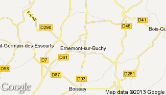 Plan de Ernemont-sur-Buchy