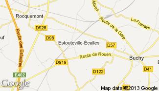 Plan de Estouteville-Écalles