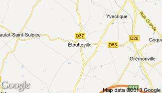 Plan de Étoutteville