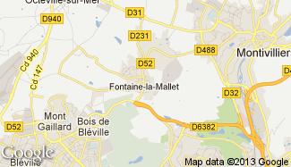 Plan de Fontaine-la-Mallet