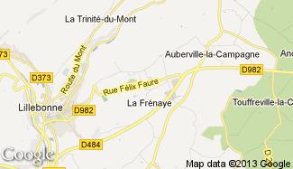 Plan de La Frénaye